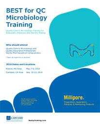 Best QC Microbiology Training Brochure