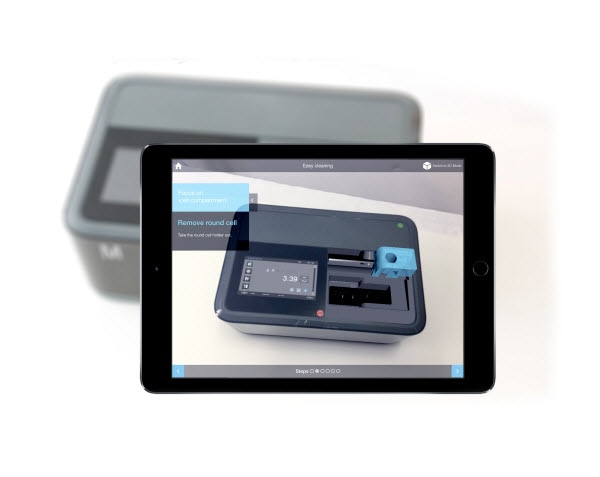 spectroquant prove 600 augmented reality app explore our newest spectrophotometer