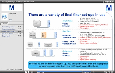 Choosing the Right Number of Filters - Watch Vodcast